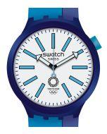 Swatch Big Bold Special BB Ai Blue SO27Z100