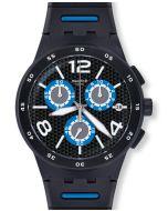 Swatch Chrono Plastic Black Spy SUSB410