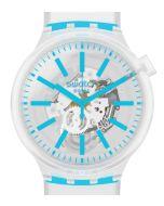 Swatch Big Bold Blueinjelly SO27E105