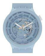 Swatch Big Bold Ceramic C-Blue SB03N100