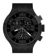 Swatch Big Bold Chrono Checkpoint Black SB02B400