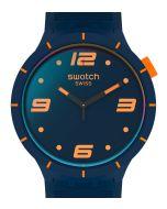 Swatch Big Bold Futuristic Blue SO27N110