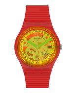 Swatch Originals Gent Retro Rosso GR185