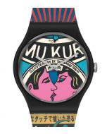 Swatch New Gent The City And Design, The Wonders Of Life SUOZ334