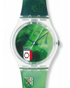 Swatch Gent Special 27 MO CANTONE SWATCH VERTE GZ173