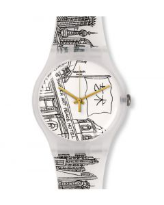 Swatch New Gent Special Black & White The Swatch Art Peace Hotel Shanghai SUOZ197