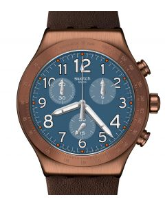 Swatch Irony New Chrono Back To Copper YVC100