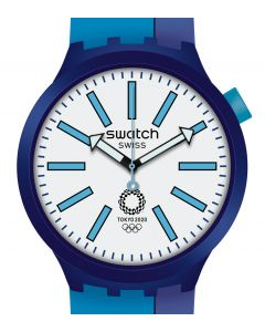 Swatch Big Bold Special BB Ai Blue SO27Z100