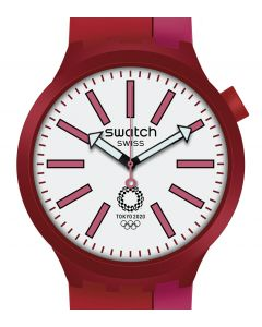 Swatch Big Bold Special BB Kureni Red SO27Z101