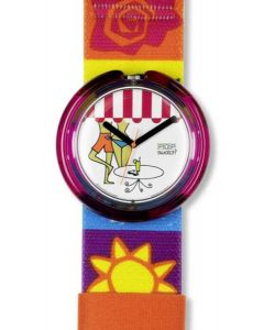 Pop Swatch BEACH CAFE PWK195
