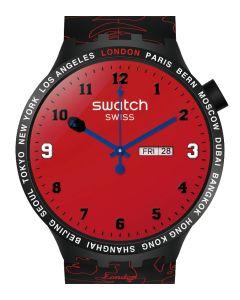 Swatch x Bape Big Bold Bape London Edition - Limitiert SO27Z701S