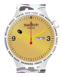 Swatch x Bape Big Bold Bape NYC Edition - Limitiert SO27Z702S