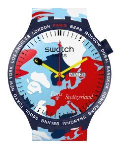 Swatch x Bape Big Bold Bape Paris Edition - Limitiert SO27Z703S