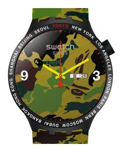 Swatch x Bape Big Bold Bape Tokyo Edition - Limitiert SO27Z705S