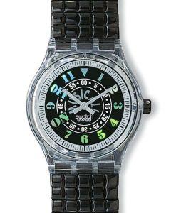 Swatch Musicall Black Awake SLN102
