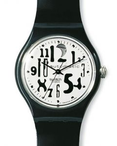 Swatch Automatic Black Board SAB 103