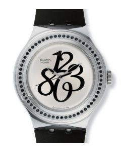 Swatch Irony Nabab Black Gloss Silicone YNS111C
