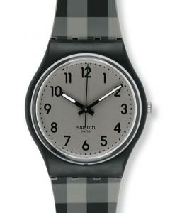 Swatch Gent BLACK & GREY CHECKED GB271