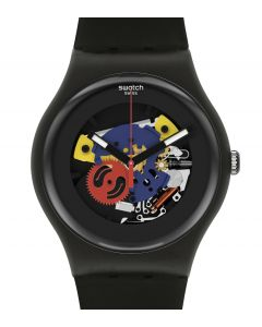 Swatch New Gent Black Lacquered Again SO29B107