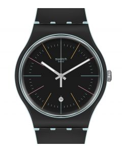 Swatch New Gent Black Layered SUOS402