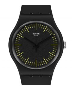 Swatch Originals New Gent Blacknyellow SUOB184