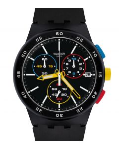 Swatch Originals Chrono Plastic Black-One SUSB416