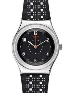 Swatch Irony Medium Black Puncher YLS184