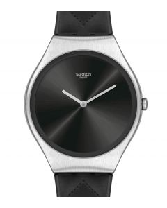 Swatch Skin Irony Black Quilted SYXS136