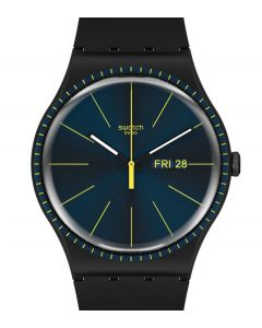 Swatch Originals New Gent Black Rails SUOB731