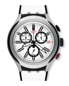Swatch Irony XLite Chrono Black Wheel YYS4005