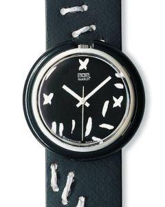 Midi Pop Swatch BLACK WIDOW PMW100