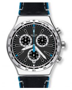 Swatch New Irony Chrono Blue Details YVS442