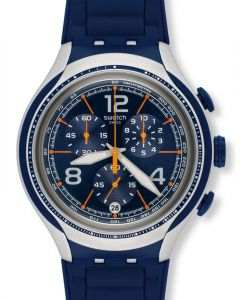 Swatch Irony XLite Chrono Blue Face YYS4015