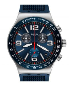 Swatch New Irony Chrono Blue Grid YVS454