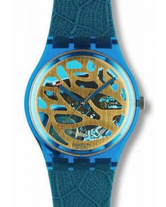Swatch Gent Blue Leaves GN104