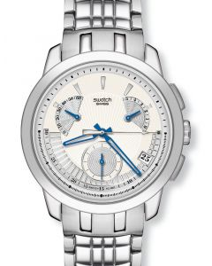 Swatch Irony Retrograde Chrono Blue Signs YRS402G