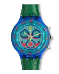 Swatch Aqua Chrono Blue Sky SBN100