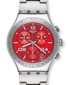 Swatch Irony Chrono BLUSTERY RED YCS563G
