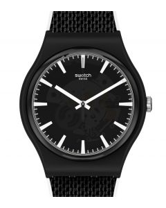 Swatch New Gent BnW (Black and White) Pay! SVIB107-5300