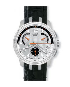 Swatch Irony Retrograde Chrono Bring Back Black YRS405D