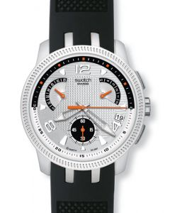 Swatch Irony Retrograde Chrono Dark Bring Back YRS405C