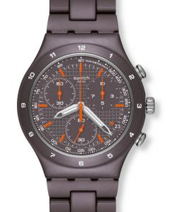 Swatch Irony Chrono BROWN COAT YCC4000AG