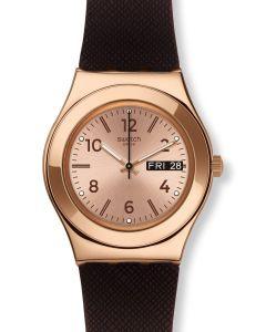 Swatch Irony Medium Brownee YLG701