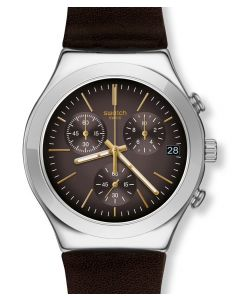 Swatch Irony Chrono Brownflect YCS600