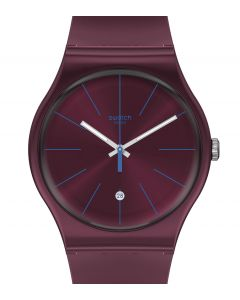 Swatch New Gent Burgundazing SUOR402