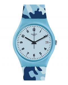 Swatch Originals Gent Camoublue GS402