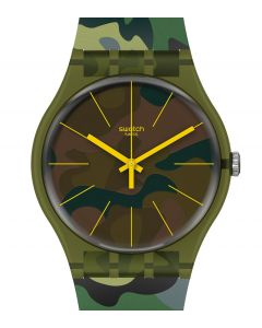 Swatch New Gent Camouforest SUOG114
