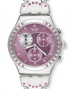 Swatch Irony Chrono Caviar D`Aubergine YCS488G