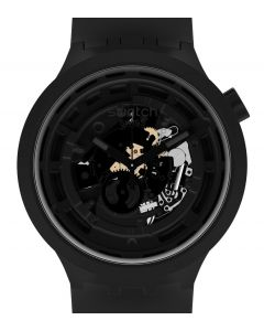 Swatch Big Bold Ceramic C-Black SB03B100