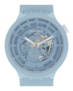 Swatch Big Bold Ceramic C-Blue SB03N100